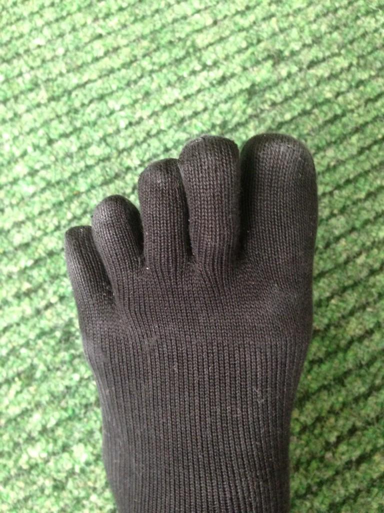 5本指シューズを履くには、5本指ソックスが必須です!!